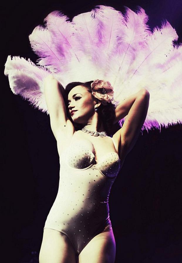An evening of burlesque at Aylesbury