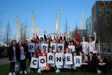 Pipers Corner school girls head to the o2