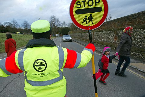 County council launches a lollipop men and women campaign