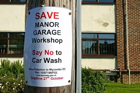 Bucks Free Press: Petrol station given permission to turn popular repair garage into jet wash