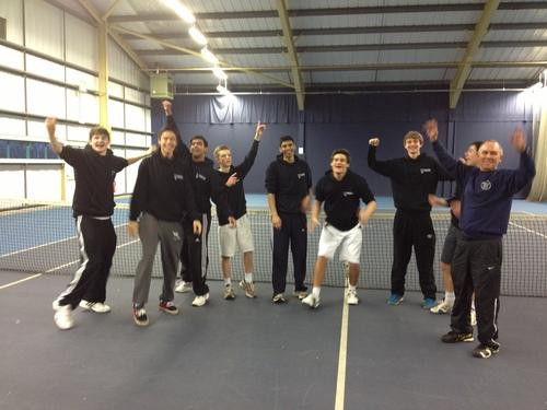 Bucks County U18 tennis squad
