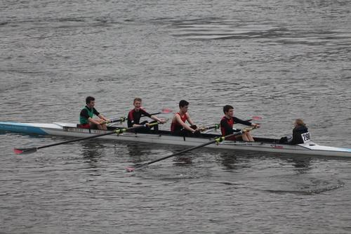 WINNERS: The J15 crew was Ross Honey, Dan Magnussen, James Wheal, Edward Nunn and cox Lottie Hughes