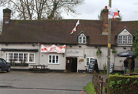 The Pheasant pub in Amersham