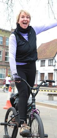Fern Britton offers tips ahead of charity cycle ride
