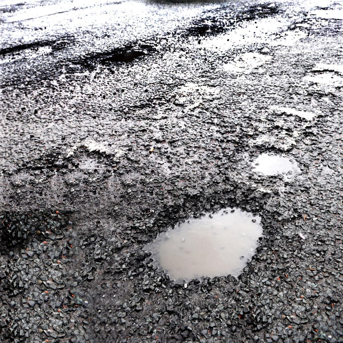 Weather update: Potholes prime concern as emergency road calls continue