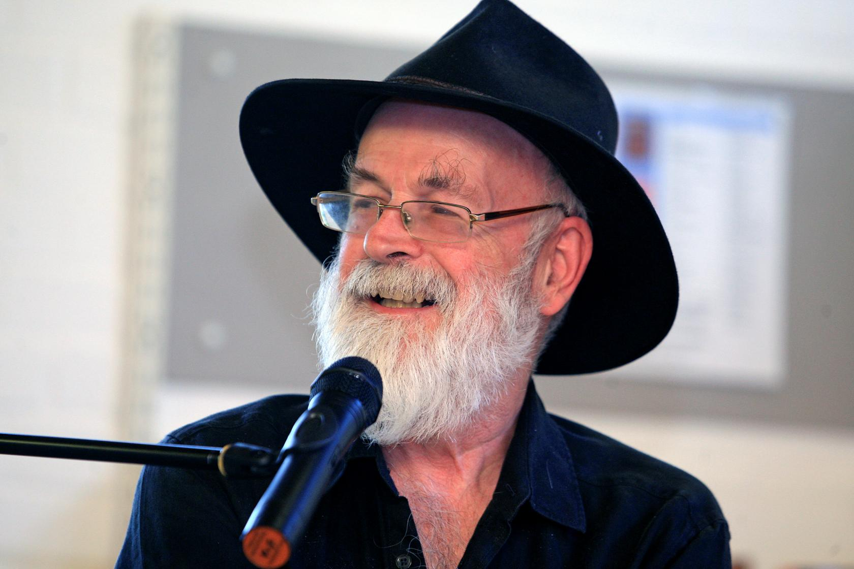 Terry Pratchett returns to Beaconsfield Library