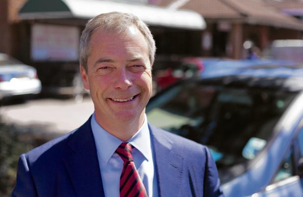 Nigel Farage to visit south Bucks this weekend
