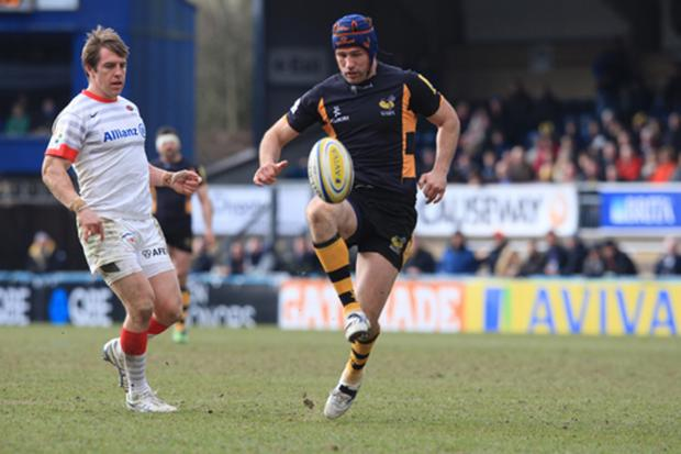 Club captain Chris Bell has signed a new Wasps deal