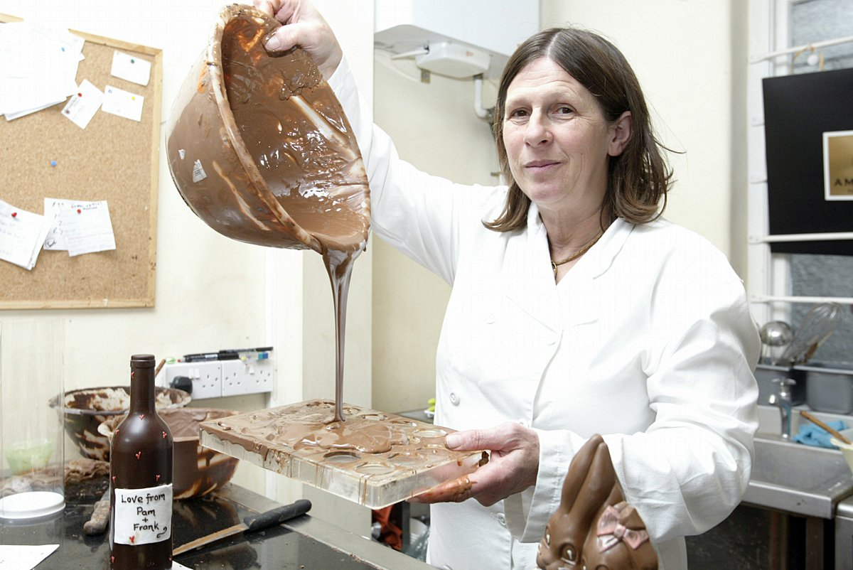 Anne Scott, MD of Auberge du Chocolat