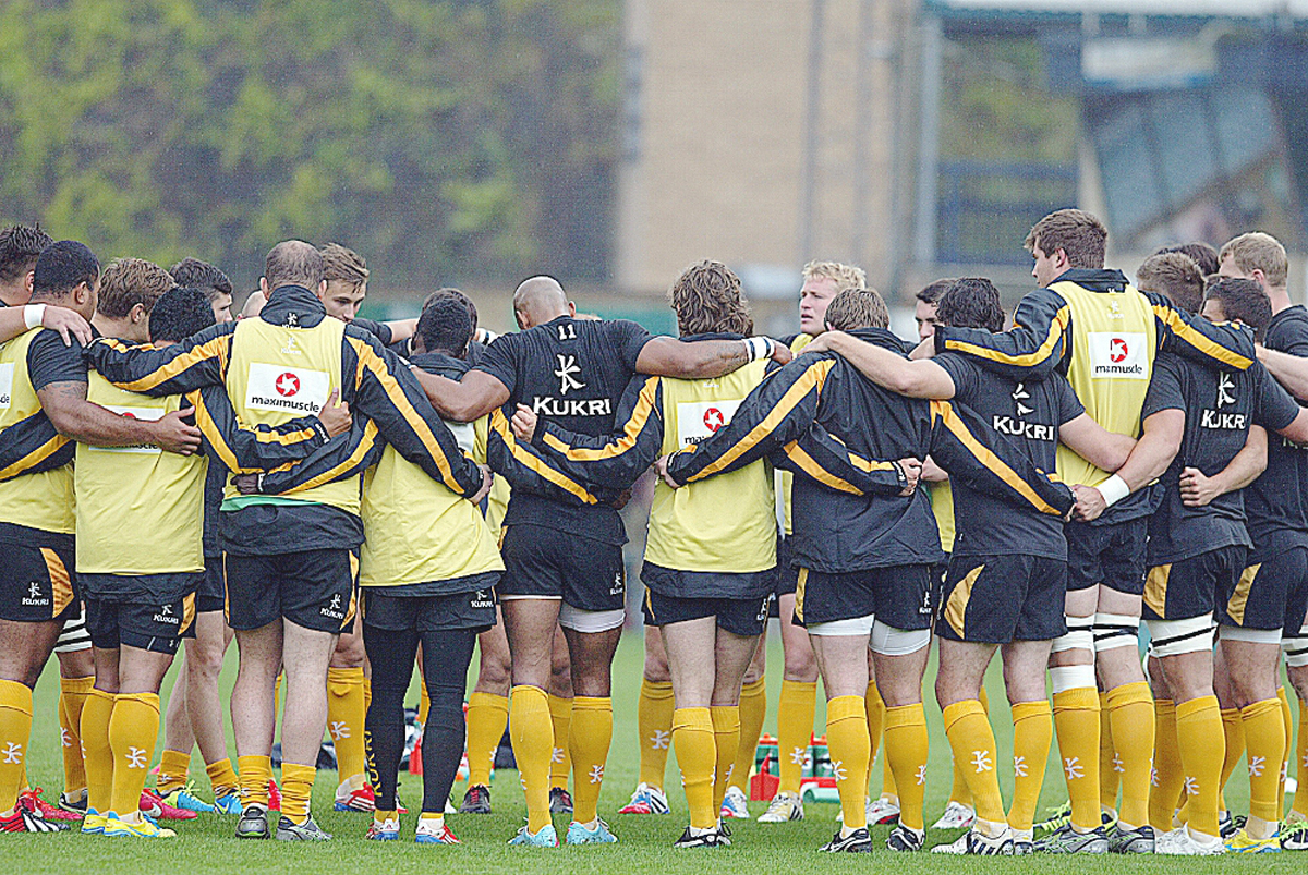Wasps have the strength to keep going this season