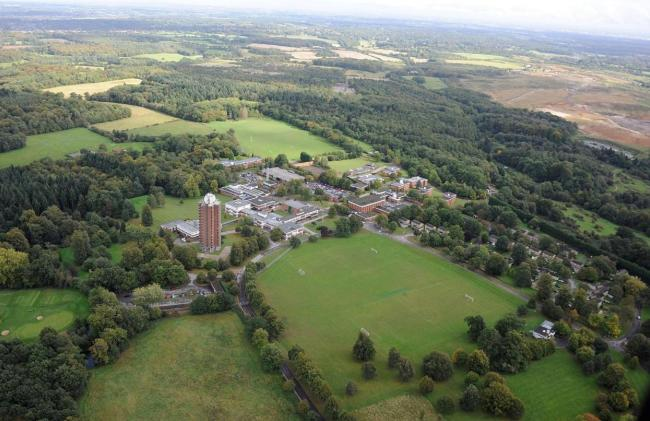 An aerial view of Wilton Park, which is earmarked for a major housing development