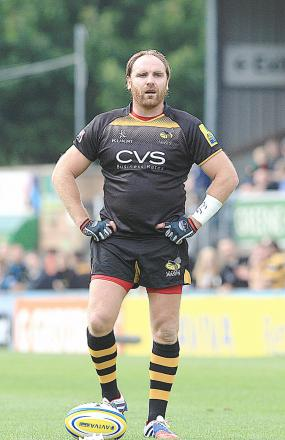 Andy Goode was a late withdrawal