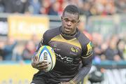Christian Wade scored Wasps first try against Saracens on Sunday.