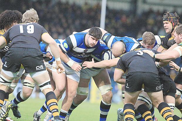 Wasps were over-powered by Bath's pack