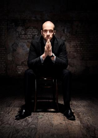 Derren Brown. Photo by Seamus Ryan.