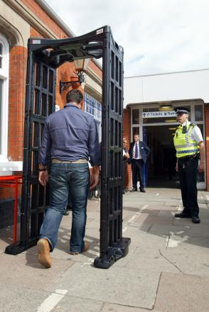 Knife arches, which have been previously deployed at Wycombe Station, could feature as part of the crackdown on crime