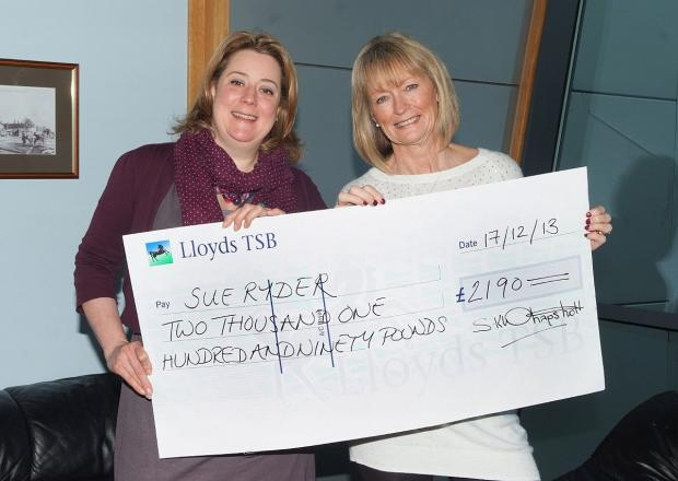 Hospice receives boost after charity ball