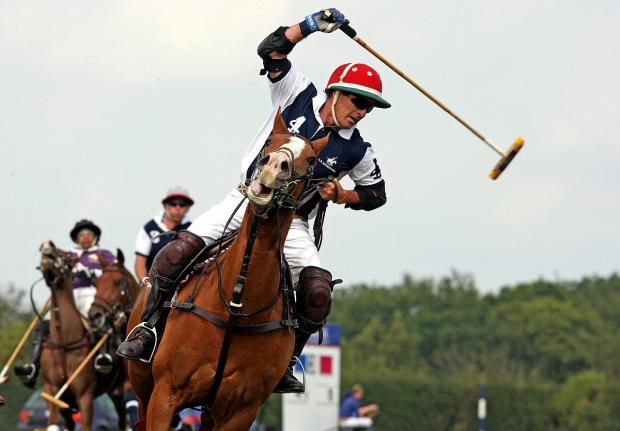 Polo pitch row rages on