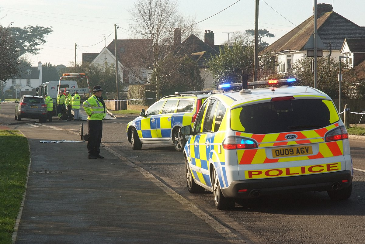 Road closed after Marlow traffic incident