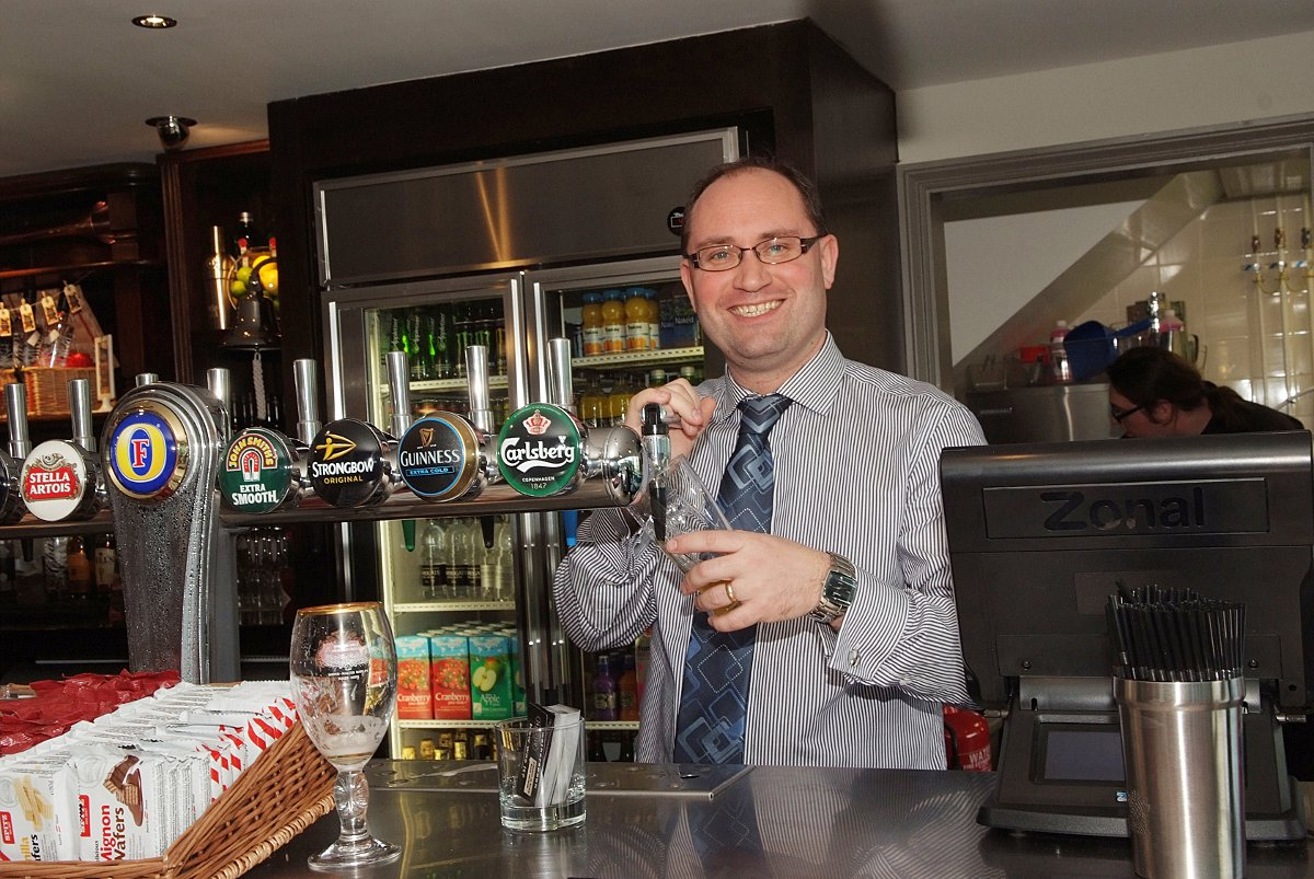 First pints pulled as new motorway pub opens doors