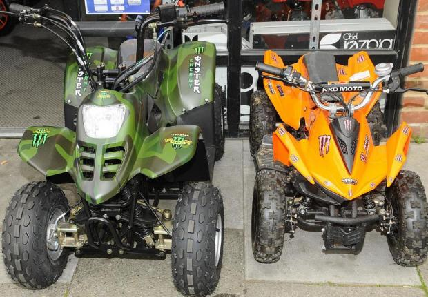 Anti-social quadbike riders causing chaos for residents