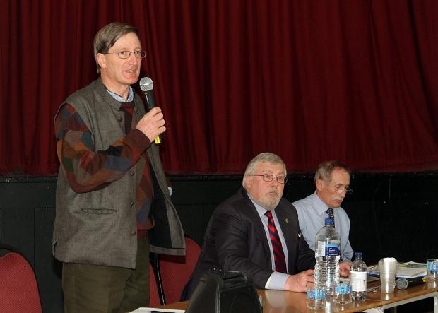 MP Dominic Grieve speaking at April's Wilton Park Watch meeting