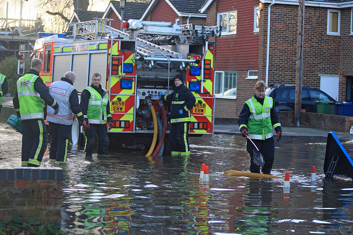 Marlow floods in pictures