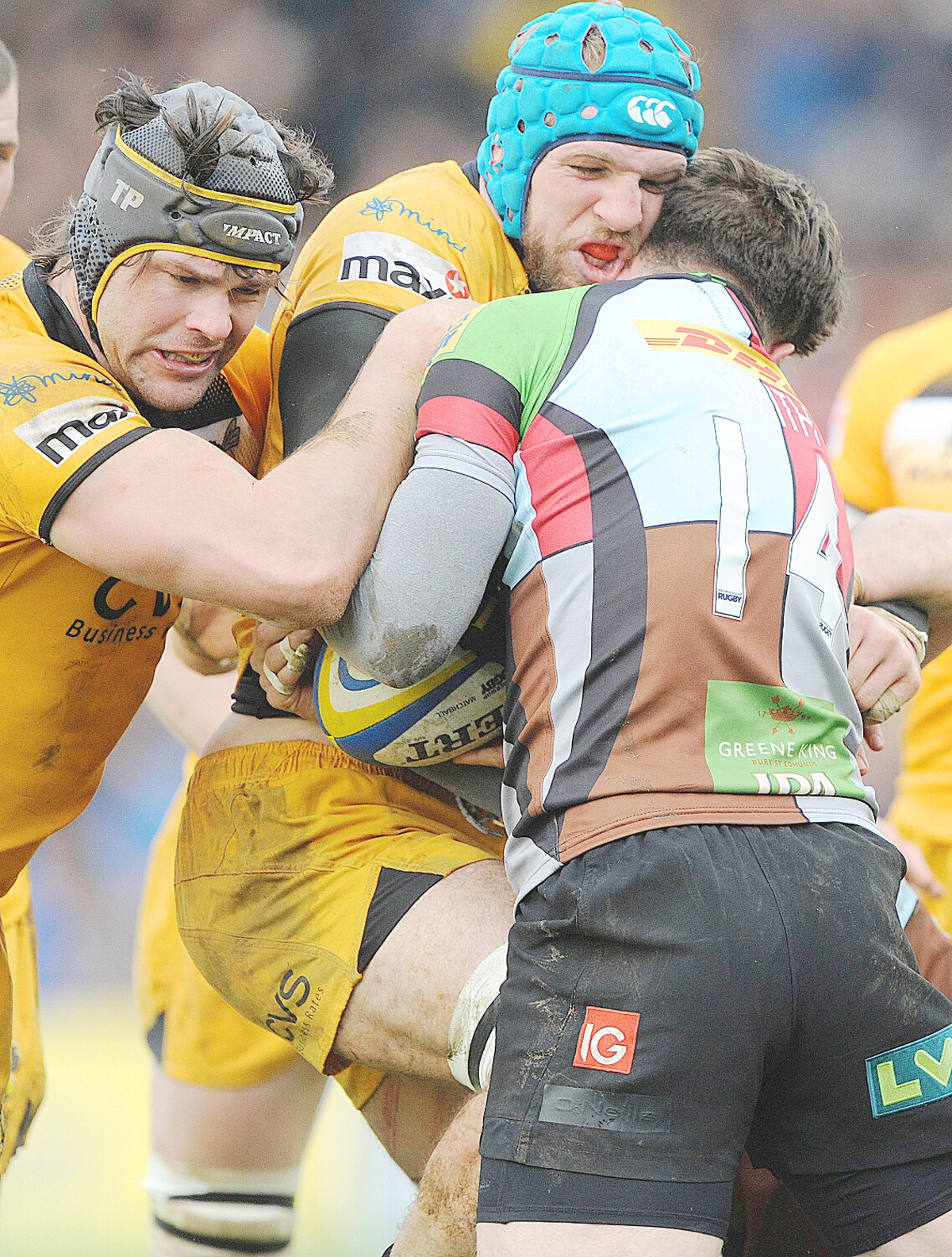 Wasps won the battles but lost the war against Quins