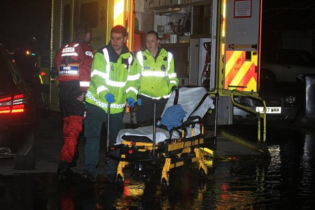 Dramatic rescue operation for flood-hit Marlow resident