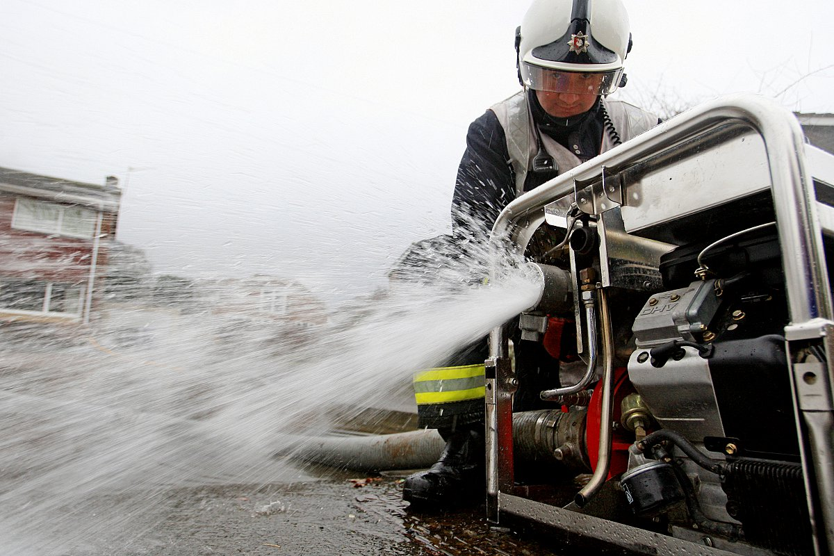 Firefighters are urging caution when using pumps