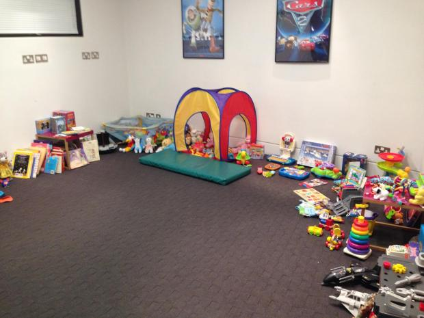 Toys and games donated after an appeal by the Crowne Plaza