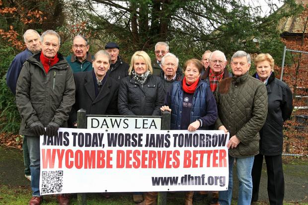 Residents face wait in Daws Hill legal challenge