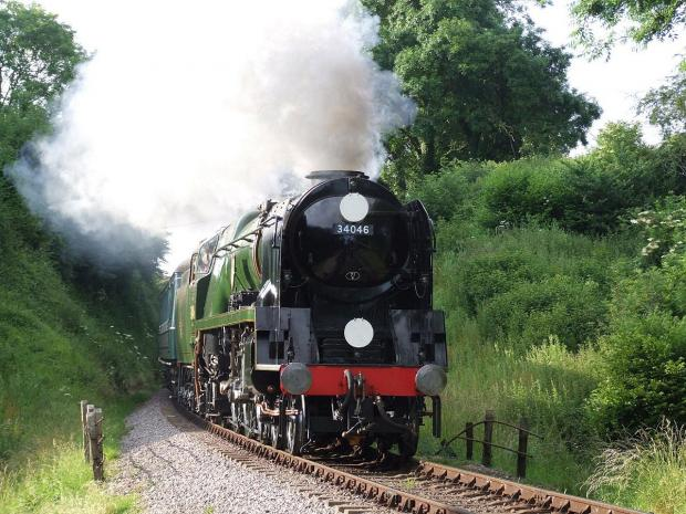 Bucks Free Press: Steam trains journey is on track