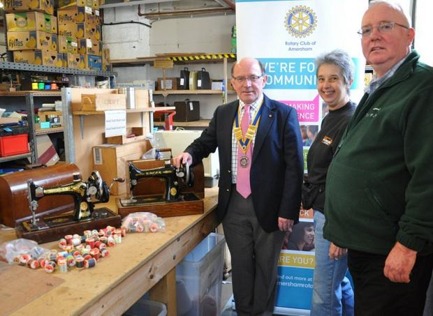 Rotarians answer Chesham charity's appeal