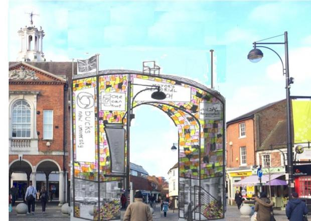 Winning Wycombe Mayoral Arch design revealed