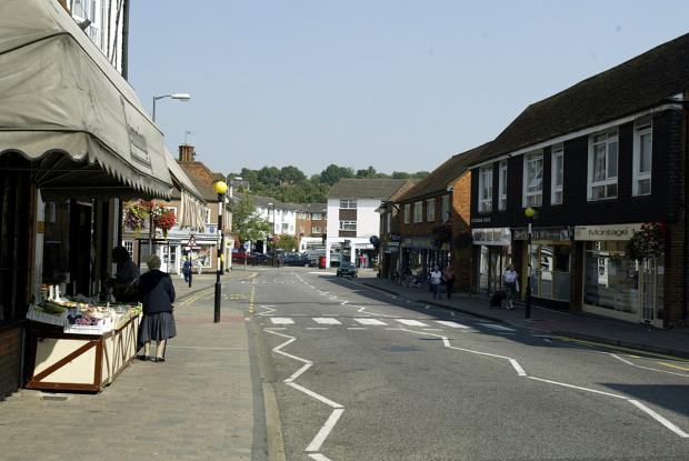 Market Place in Chalfont St Peter