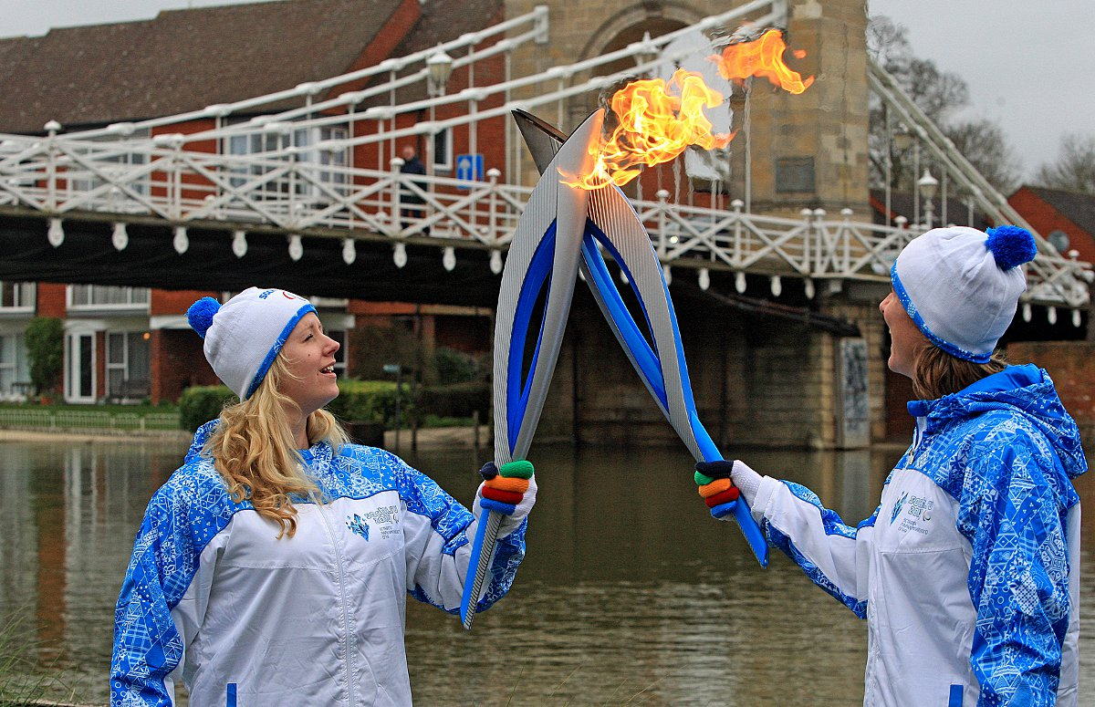 Paralympic Torch comes to Marlow