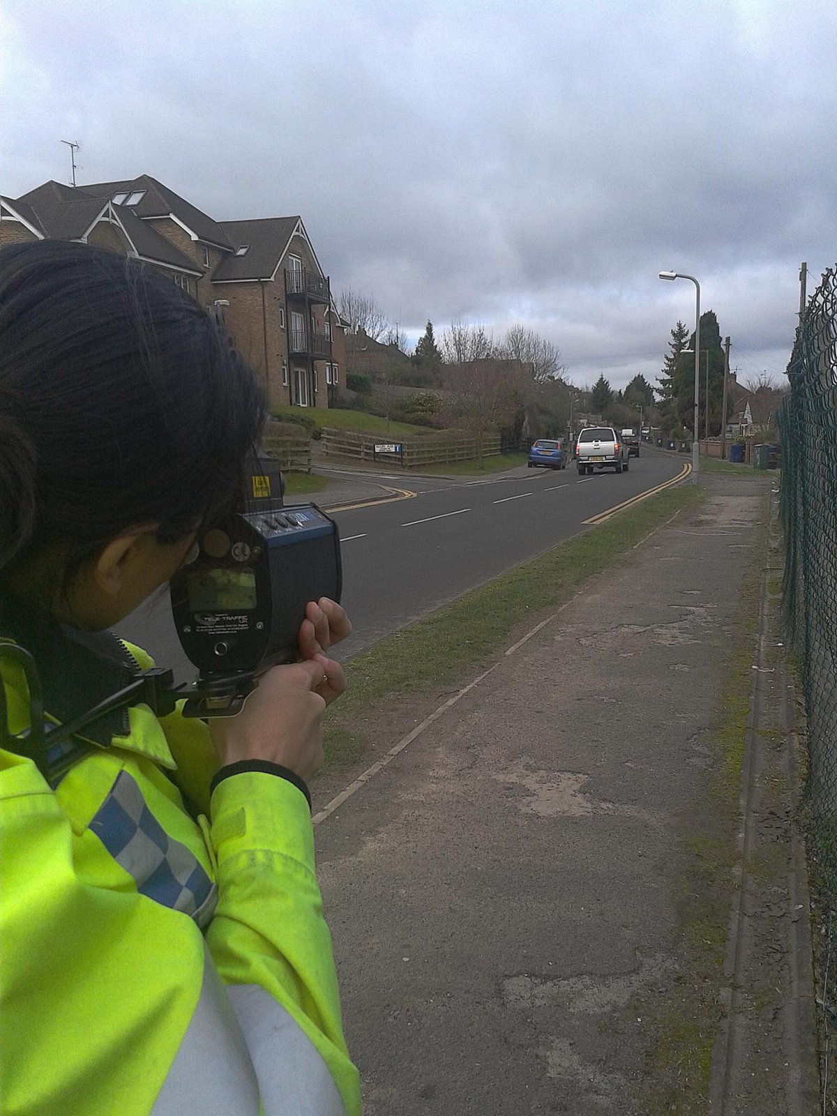 Police stop speeding motorists in Loudwater after petition
