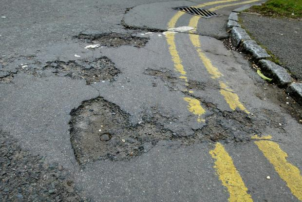 Worst roads in Bucks to be fixed
