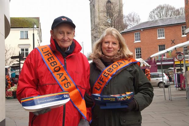 Lifeboat fundraisers collect over £300