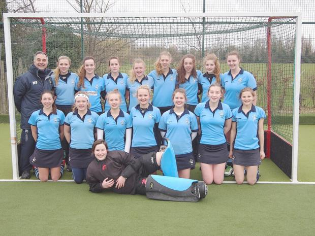 Wycombe girls U18s are league champions