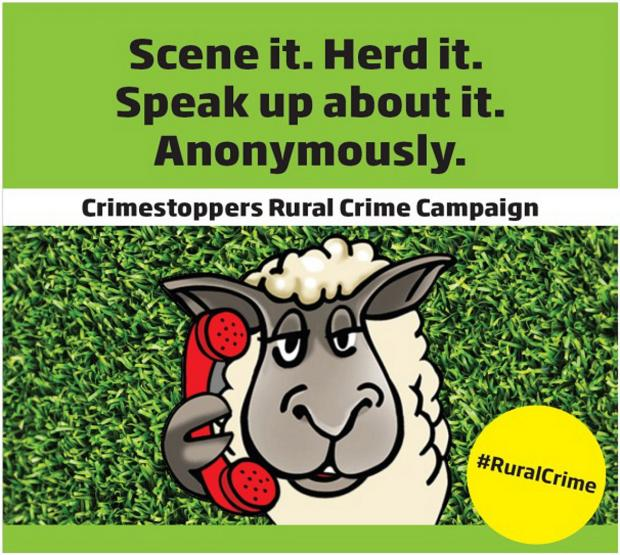 Crimestopping crackdown goes rural