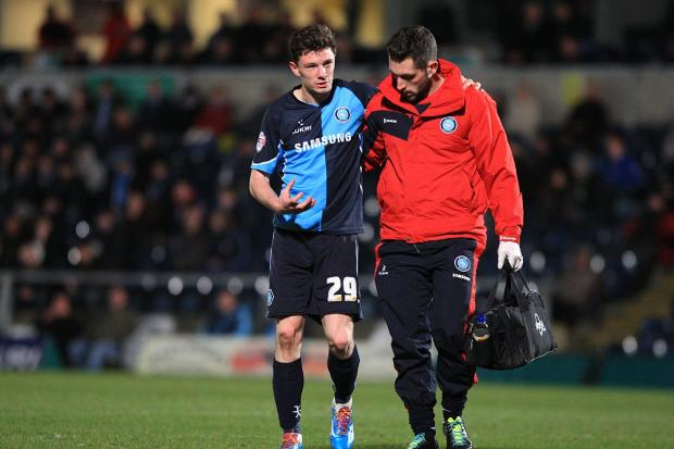 Matt McClure is among the players to suffer hamstring trouble in recent weeks