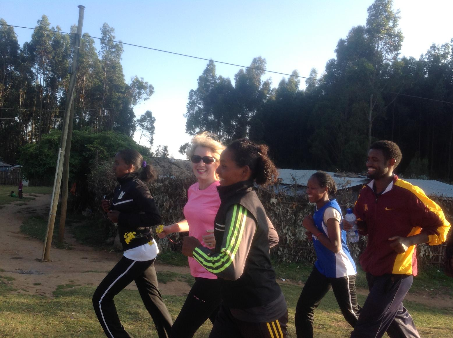Runner calls for kit donations to Ethiopia