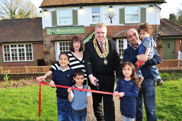Bucks Free Press: Wycombe pub reopens after £190,000 investment