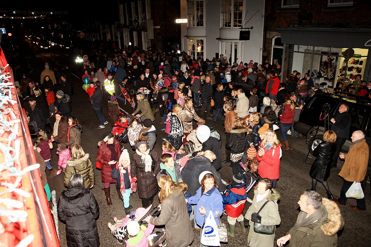 Date agreed for this year's Marlow festive switch-on
