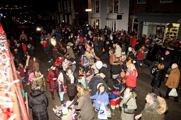 Bucks Free Press: Date agreed for this year's Marlow festive switch-on