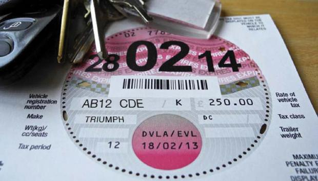 Police seize vehicles for not displaying tax disc