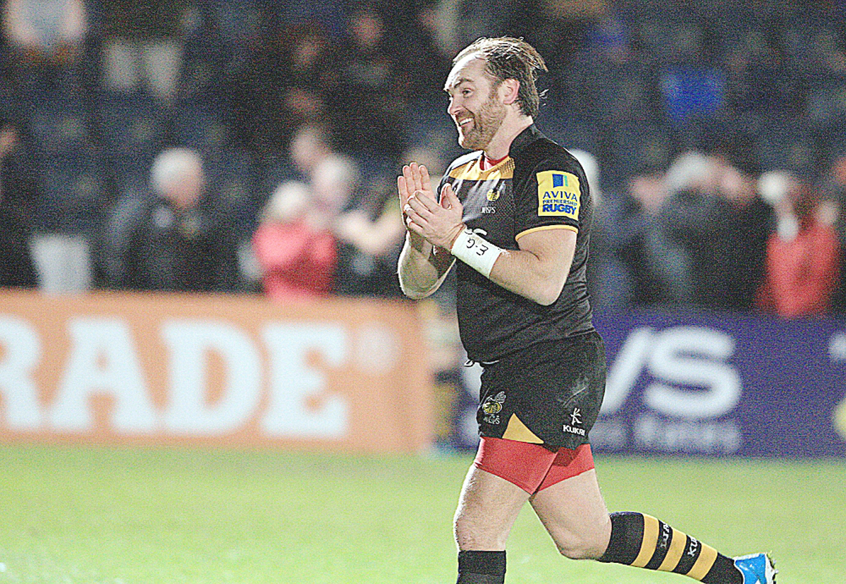 Andy Goode landed 21 points against Gloucester