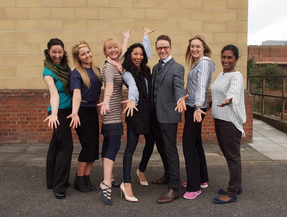 Strictly stars quizzed by BNU students